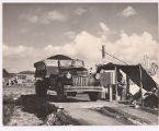 [1941 Chevrolet truck at Macasphalt weigh station]